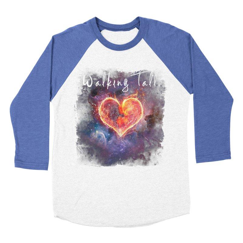 Universal Love Men's Baseball Triblend Longsleeve T-Shirt by Walking Tall - Band Merch Shop