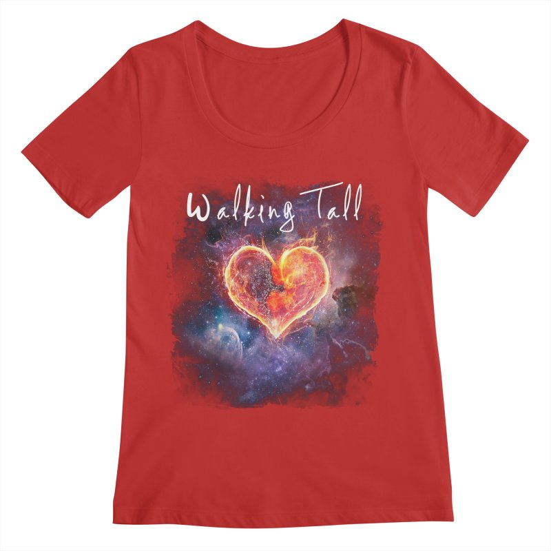 Universal Love Women's Regular Scoop Neck by Walking Tall - Band Merch Shop