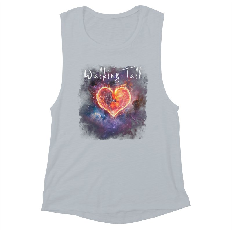 Universal Love Women's Muscle Tank by Walking Tall - Band Merch Shop