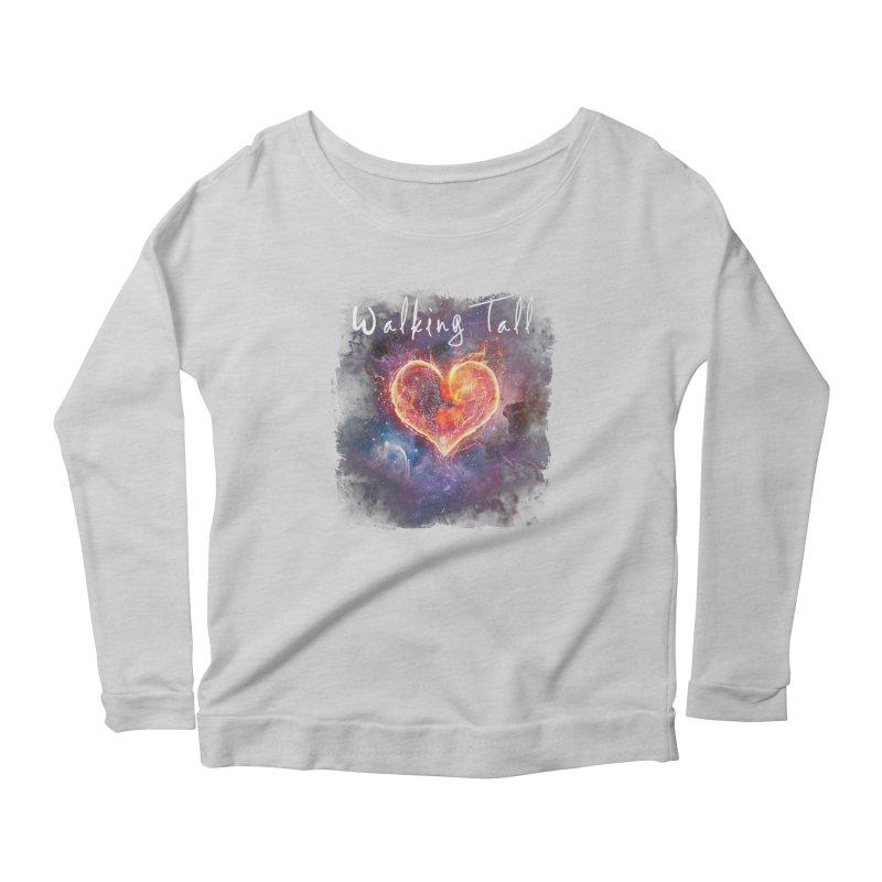 Universal Love Women's Scoop Neck Longsleeve T-Shirt by Walking Tall - Band Merch Shop