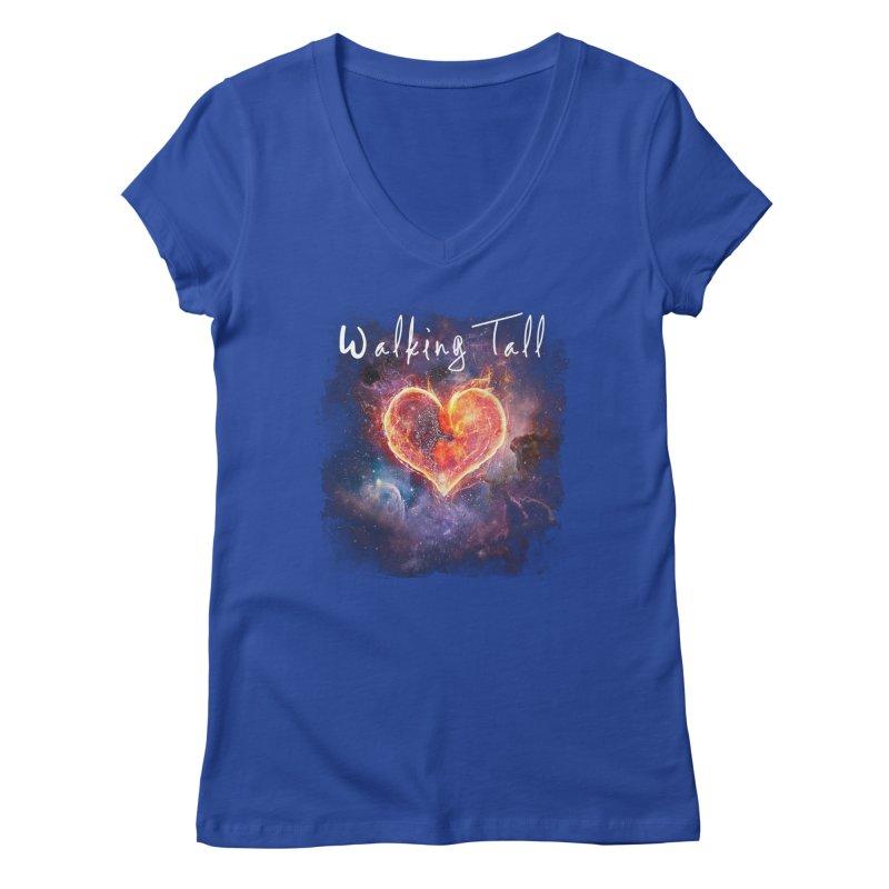 Universal Love Women's Regular V-Neck by Walking Tall - Band Merch Shop