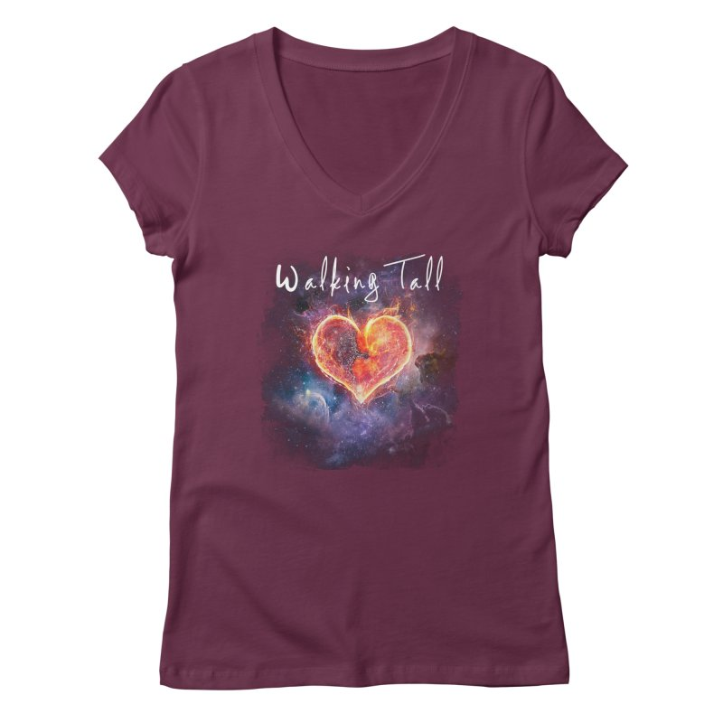 Universal Love Women's Regular V-Neck by Walking Tall - Band Merch Shop