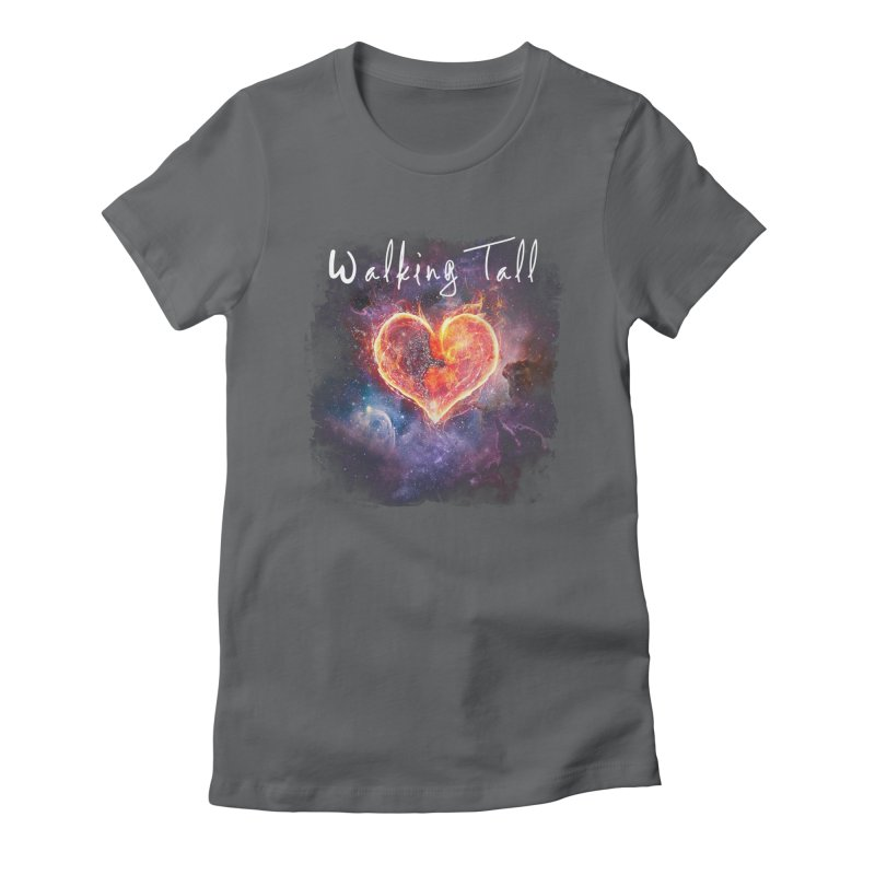 Universal Love Women's Fitted T-Shirt by Walking Tall - Band Merch Shop