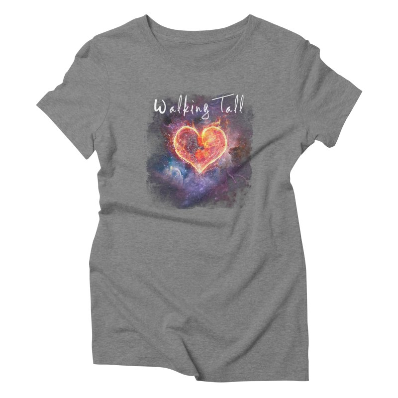 Universal Love Women's Triblend T-Shirt by Walking Tall - Band Merch Shop