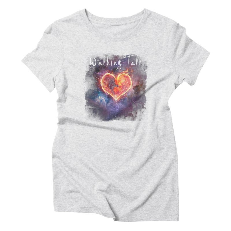 Universal Love Women's Triblend T-Shirt by Walking Tall - Band Merch Shop