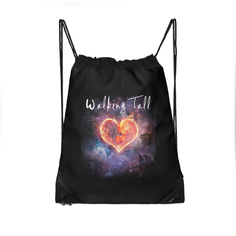 Universal Love Accessories Drawstring Bag Bag by Walking Tall - Band Merch Shop