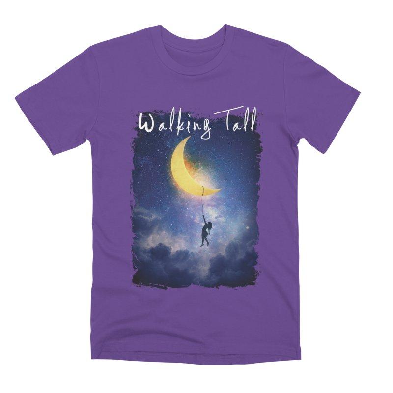 Moon And The Stars Men's Premium T-Shirt by Walking Tall - Band Merch Shop