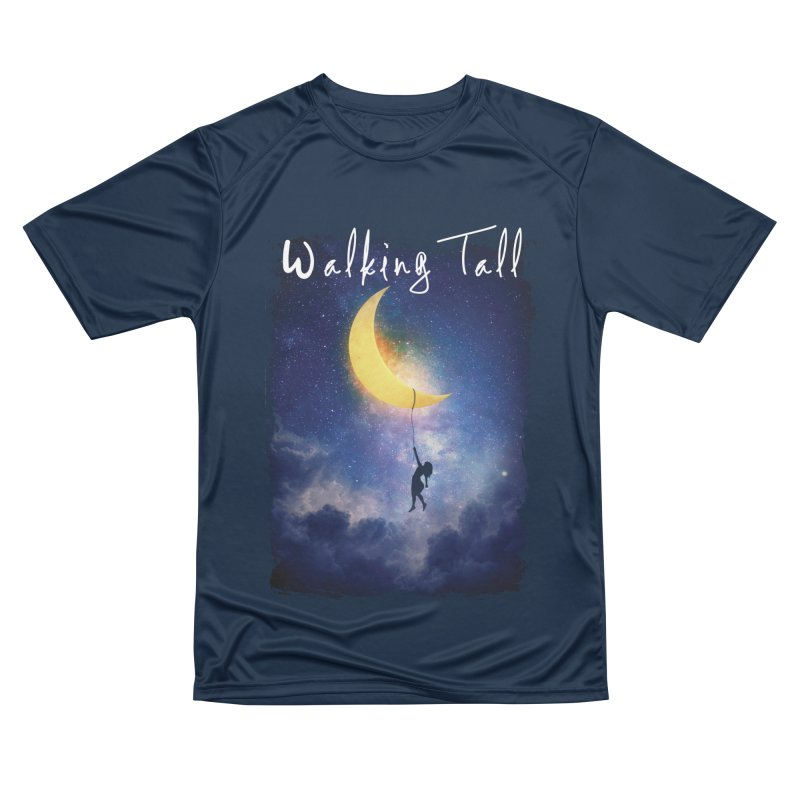 Moon And The Stars Men's Performance T-Shirt by Walking Tall - Band Merch Shop