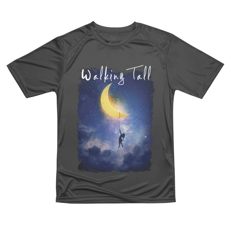 Moon And The Stars Women's Performance Unisex T-Shirt by Walking Tall - Band Merch Shop