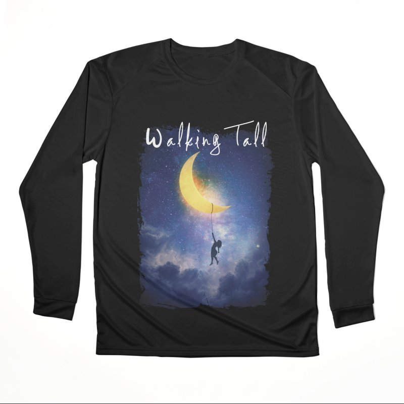Moon And The Stars Men's Performance Longsleeve T-Shirt by Walking Tall - Band Merch Shop