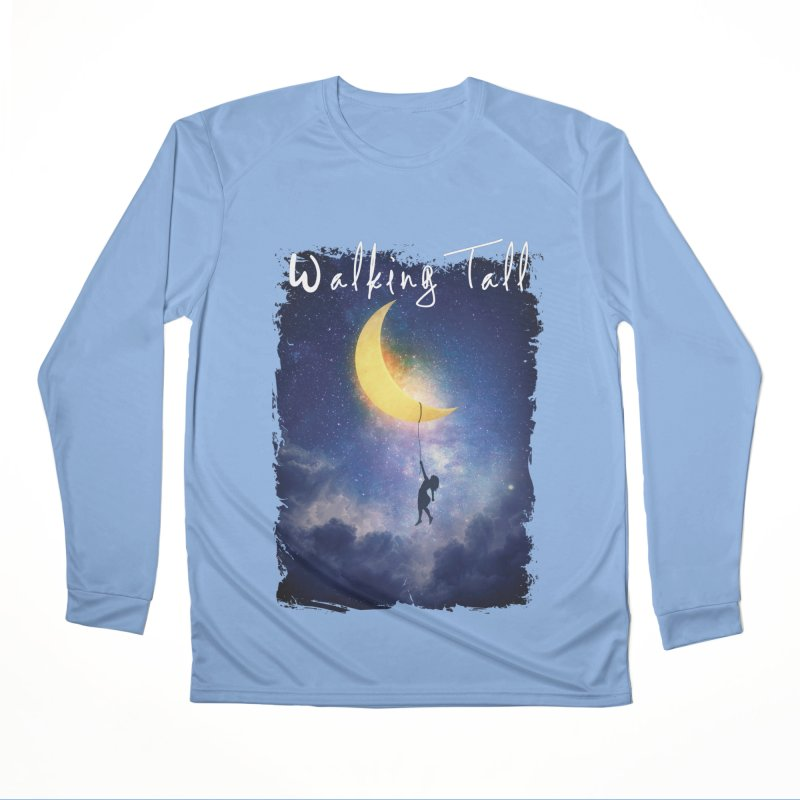 Moon And The Stars Women's Longsleeve T-Shirt by Walking Tall - Band Merch Shop