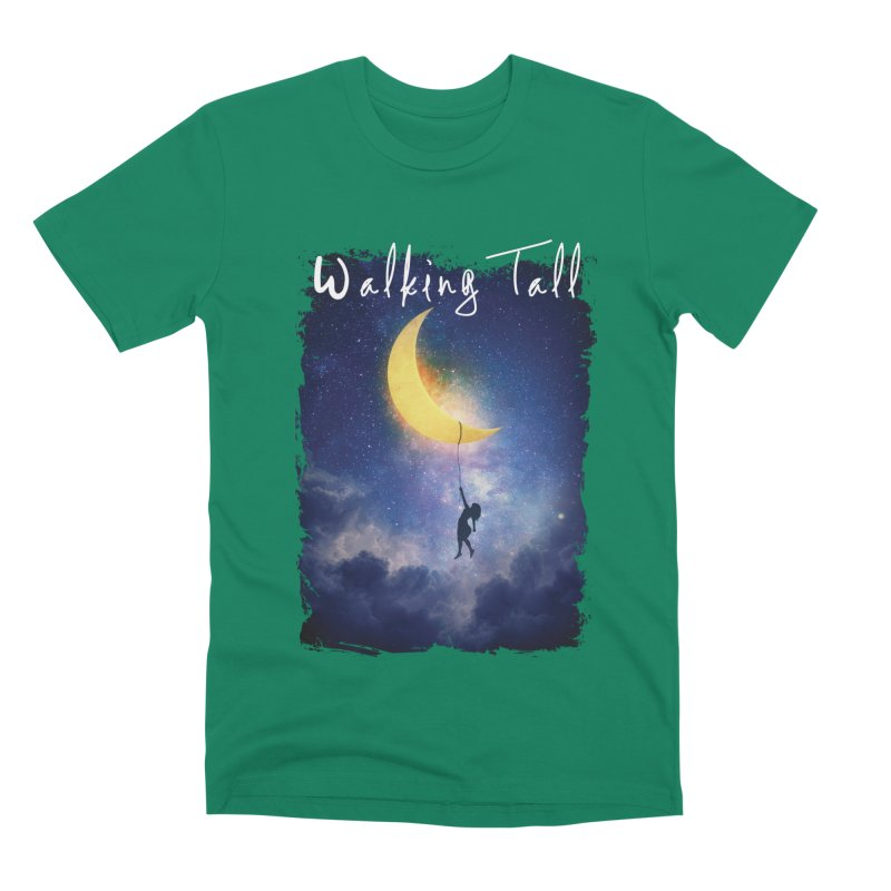 Moon And The Stars Men's Premium T-Shirt by Walking Tall - Band Merch Shop