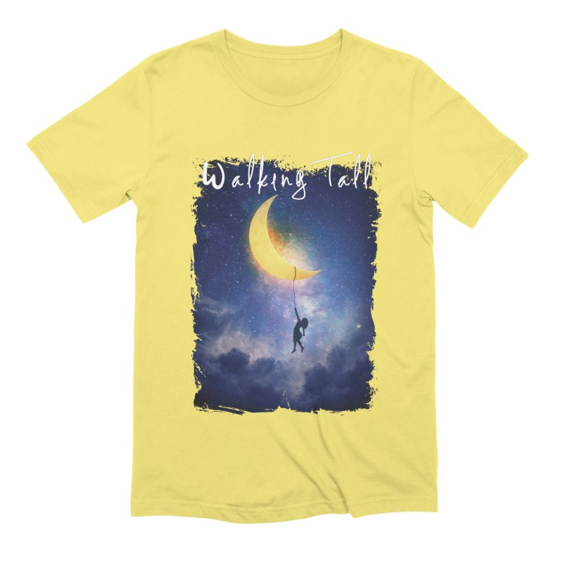 Moon And The Stars Men's Extra Soft T-Shirt by Walking Tall - Band Merch Shop