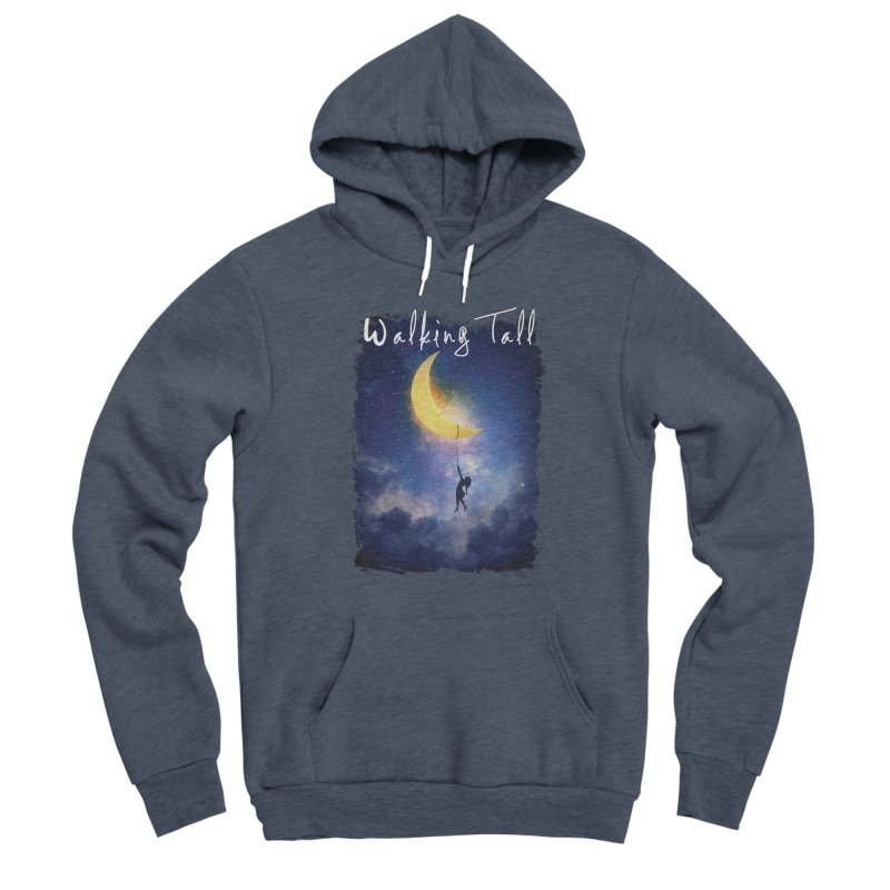 Moon And The Stars Women's Sponge Fleece Pullover Hoody by Walking Tall - Band Merch Shop