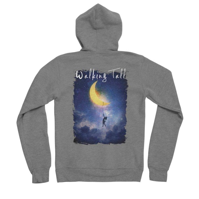 Moon And The Stars Men's Sponge Fleece Zip-Up Hoody by Walking Tall - Band Merch Shop