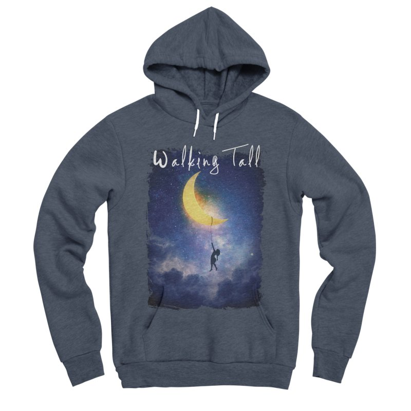 Moon And The Stars Men's Sponge Fleece Pullover Hoody by Walking Tall - Band Merch Shop