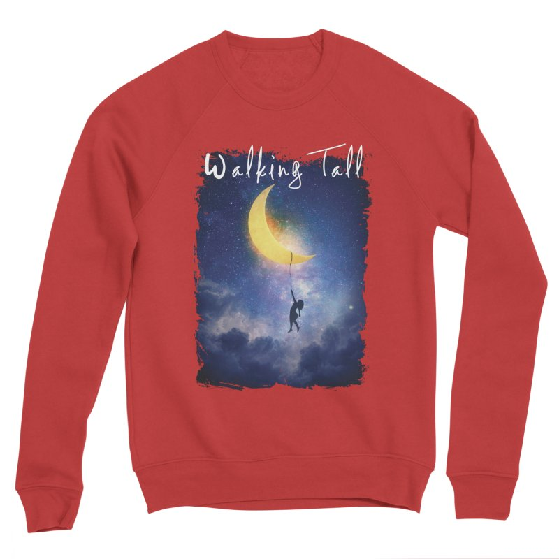 Moon And The Stars Women's Sponge Fleece Sweatshirt by Walking Tall - Band Merch Shop