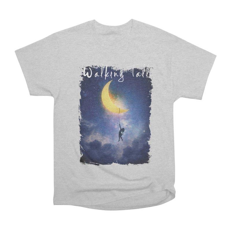 Moon And The Stars Men's Heavyweight T-Shirt by Walking Tall - Band Merch Shop