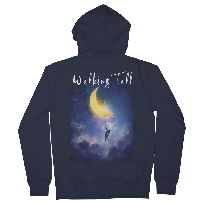 Moon And The Stars Women's French Terry Zip-Up Hoody by Walking Tall - Band Merch Shop