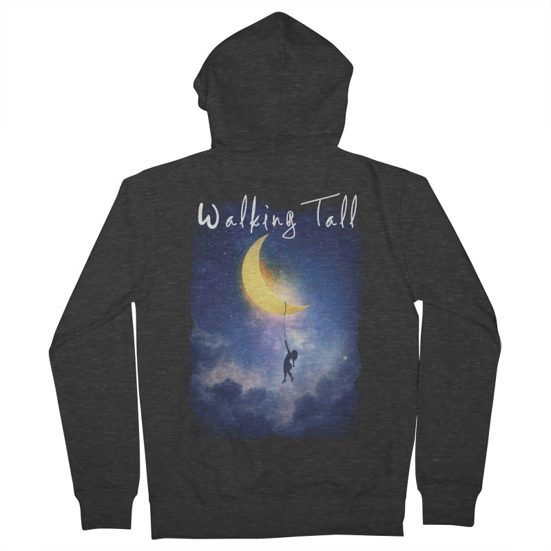 Moon And The Stars Men's French Terry Zip-Up Hoody by Walking Tall - Band Merch Shop