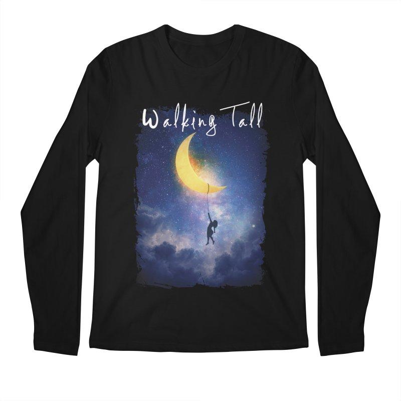 Moon And The Stars Men's Regular Longsleeve T-Shirt by Walking Tall - Band Merch Shop
