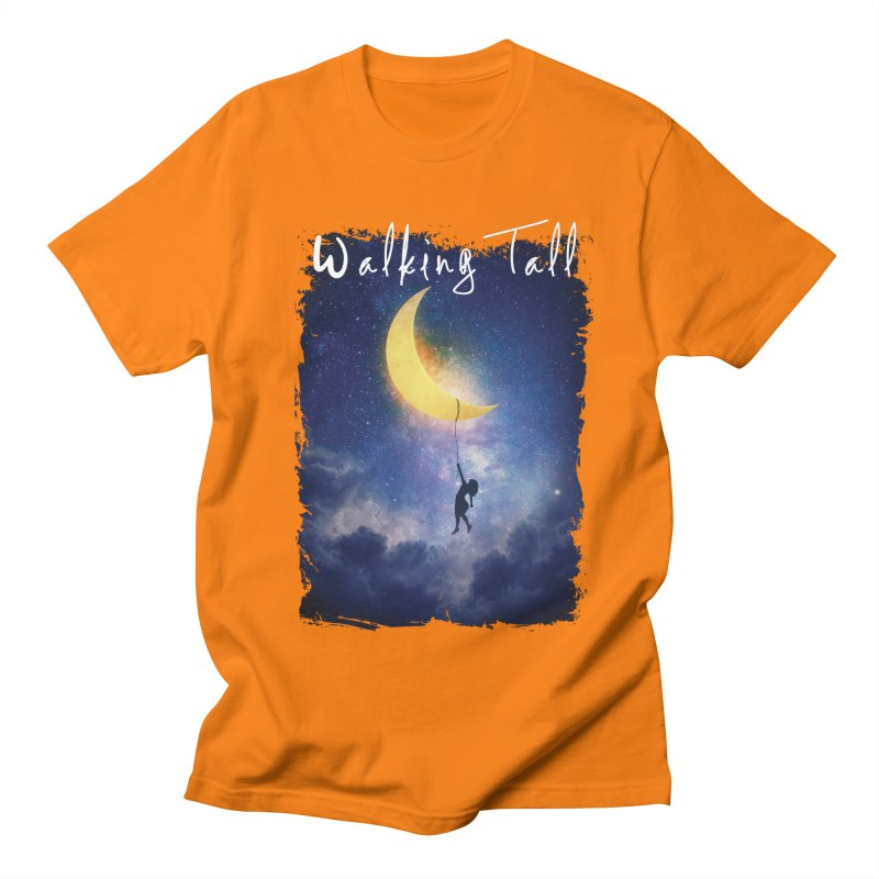 Moon And The Stars Men's Regular T-Shirt by Walking Tall - Band Merch Shop