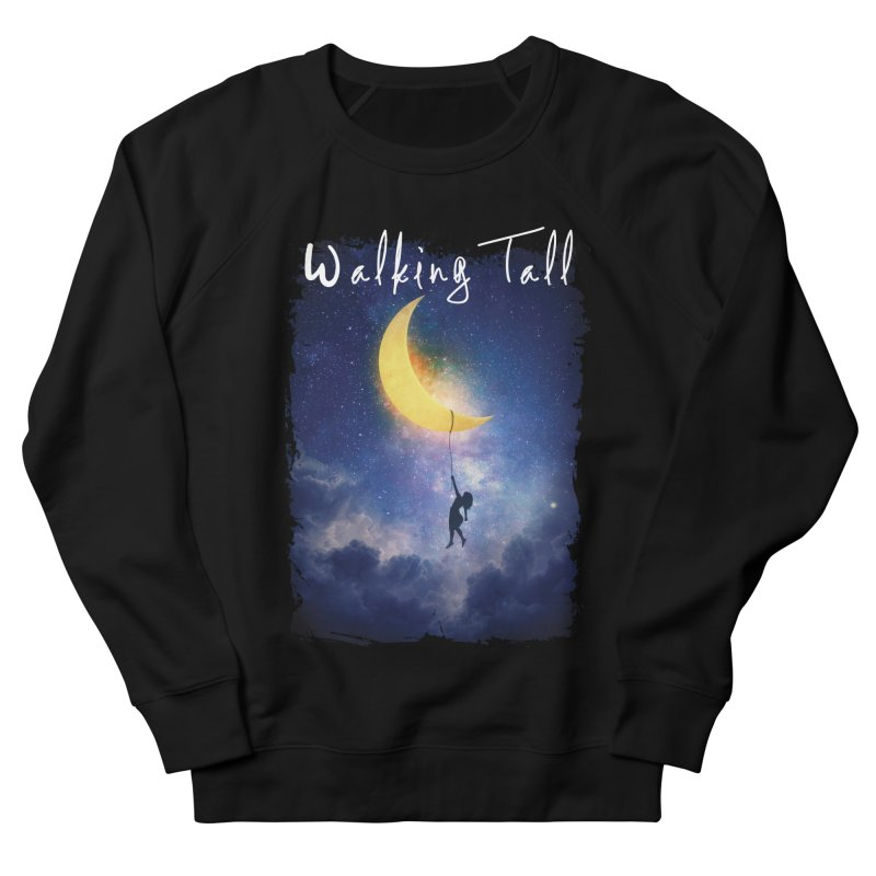 Moon And The Stars Women's French Terry Sweatshirt by Walking Tall - Band Merch Shop