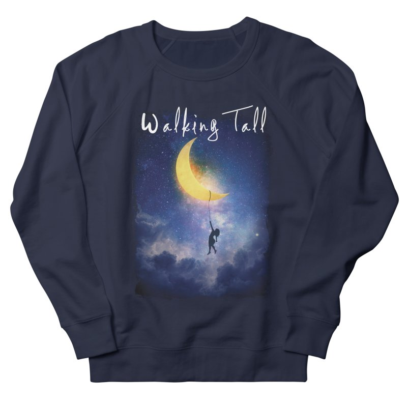 Moon And The Stars Men's French Terry Sweatshirt by Walking Tall - Band Merch Shop