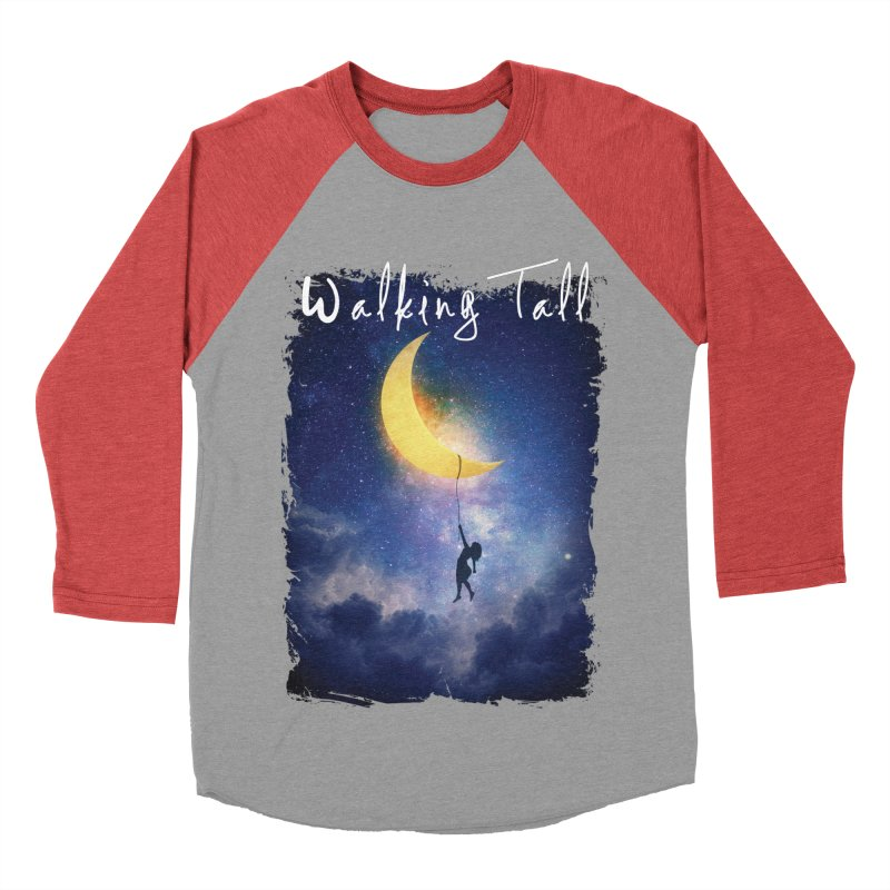 Moon And The Stars Women's Baseball Triblend Longsleeve T-Shirt by Walking Tall - Band Merch Shop