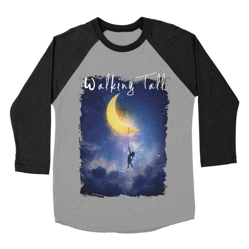 Moon And The Stars Women's Baseball Triblend Longsleeve T-Shirt by Walking Tall - Band Merch Shop