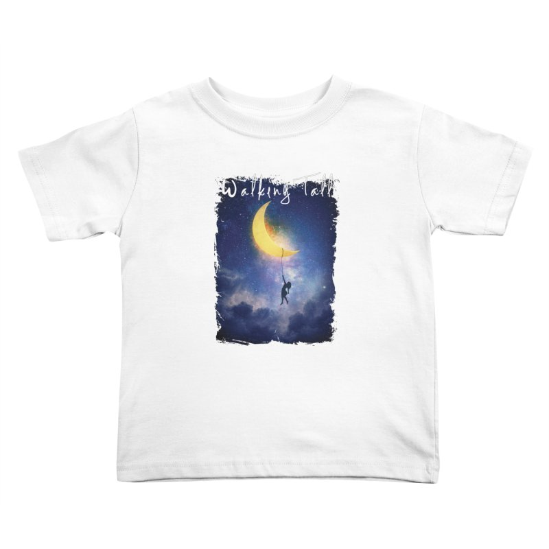Moon And The Stars Kids Toddler T-Shirt by Walking Tall - Band Merch Shop