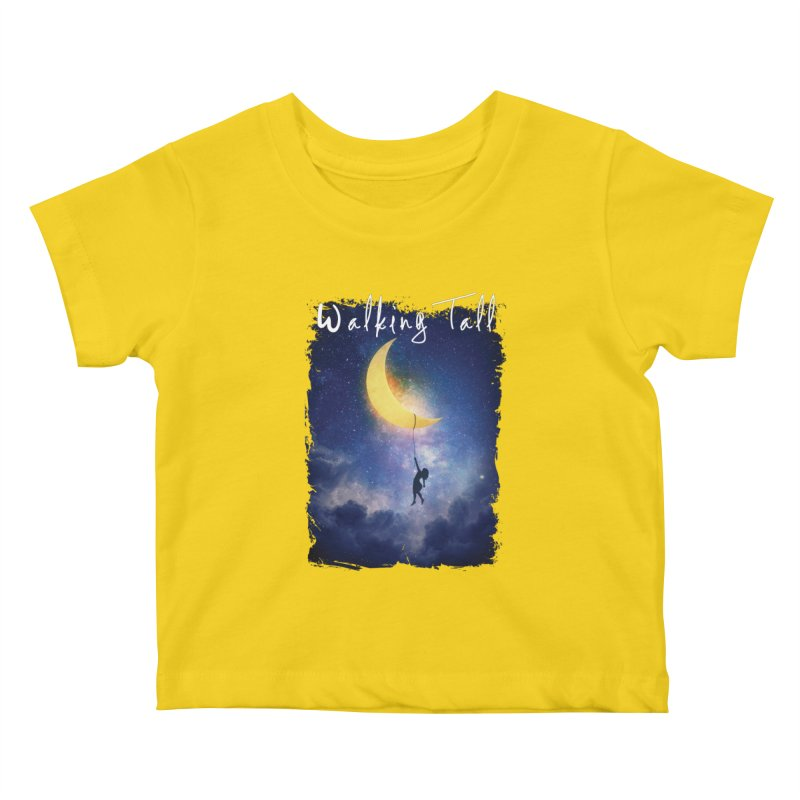 Moon And The Stars Kids Baby T-Shirt by Walking Tall - Band Merch Shop