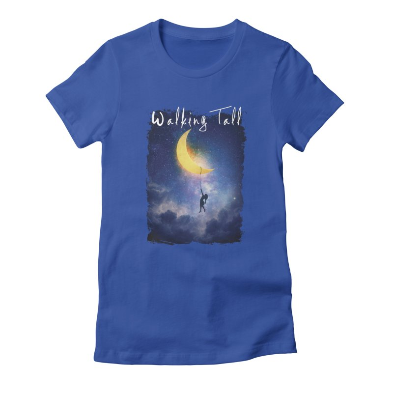Moon And The Stars Women's T-Shirt by Walking Tall - Band Merch Shop