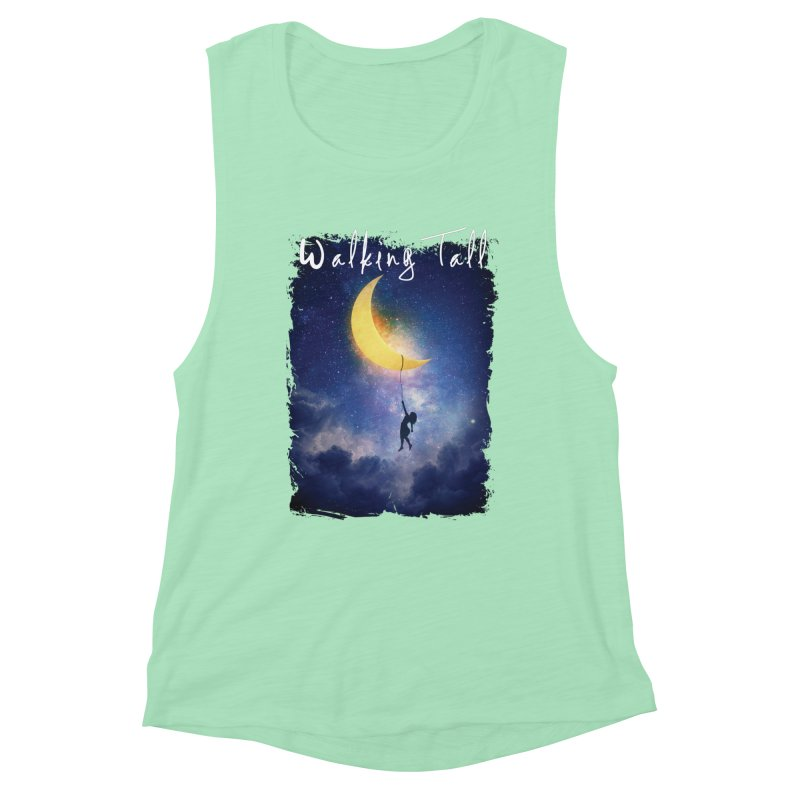 Moon And The Stars Women's Muscle Tank by Walking Tall - Band Merch Shop