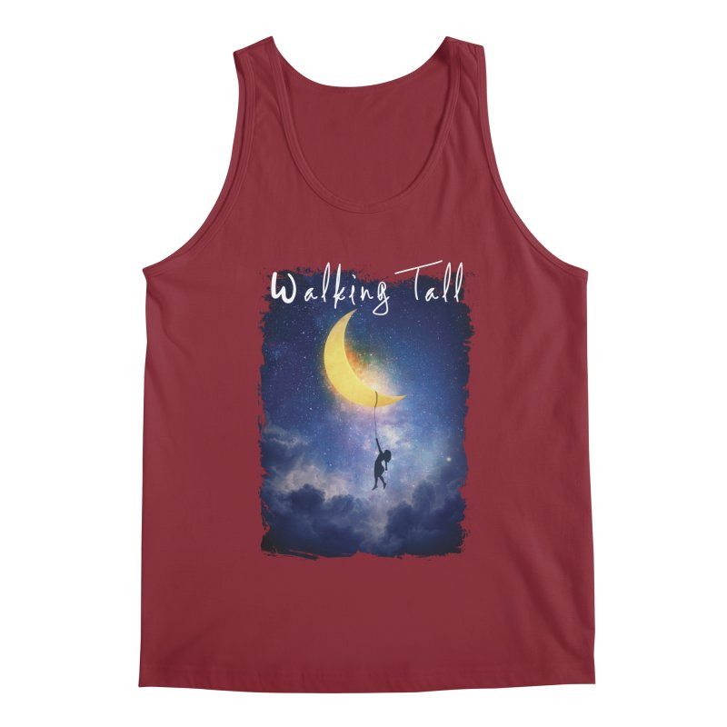 Moon And The Stars Men's Regular Tank by Walking Tall - Band Merch Shop