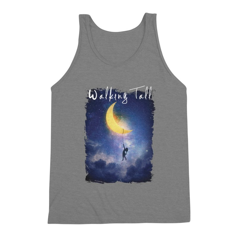 Moon And The Stars Men's Triblend Tank by Walking Tall - Band Merch Shop