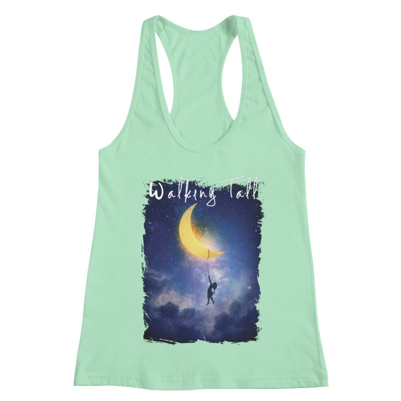 Moon And The Stars Women's Racerback Tank by Walking Tall - Band Merch Shop