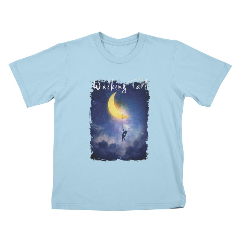 Moon And The Stars Kids T-Shirt by Walking Tall - Band Merch Shop