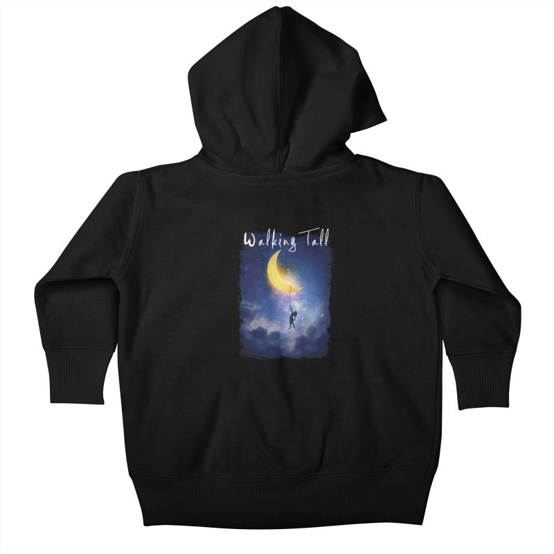 Moon And The Stars Kids Baby Zip-Up Hoody by Walking Tall - Band Merch Shop