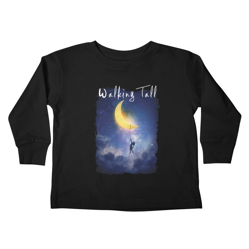Moon And The Stars Kids Toddler Longsleeve T-Shirt by Walking Tall - Band Merch Shop