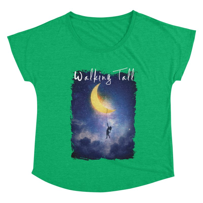 Moon And The Stars Women's Dolman Scoop Neck by Walking Tall - Band Merch Shop