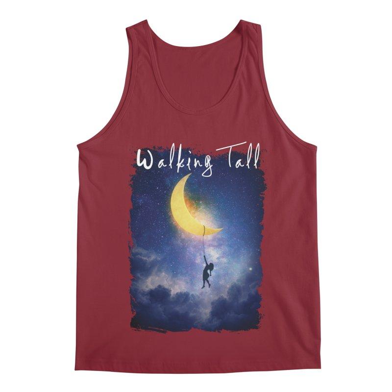 Moon And The Stars Men's Regular Tank by Walking Tall - Band Merch Shop