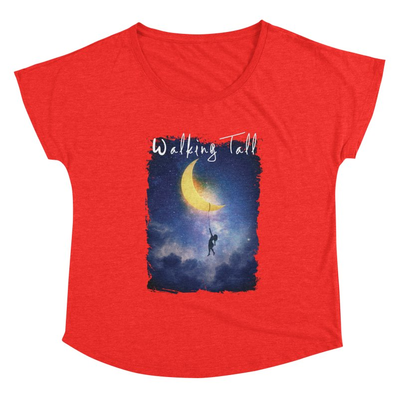 Moon And The Stars Women's Scoop Neck by Walking Tall - Band Merch Shop
