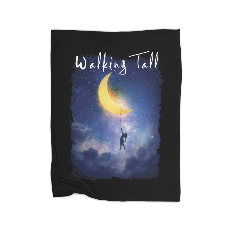 Moon And The Stars Home Blanket by Walking Tall - Band Merch Shop