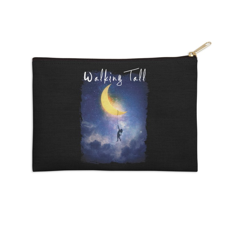 Moon And The Stars Accessories Zip Pouch by Walking Tall - Band Merch Shop