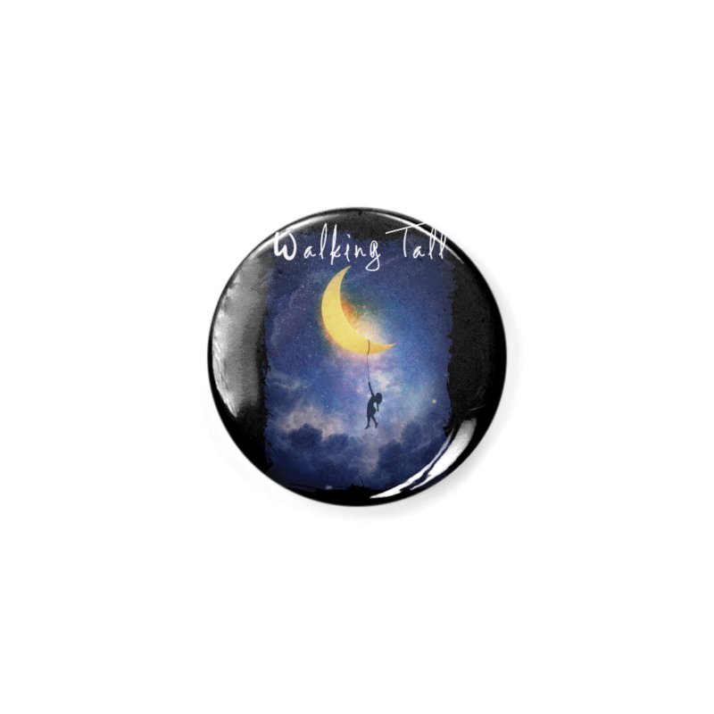 Moon And The Stars Accessories Button by Walking Tall - Band Merch Shop