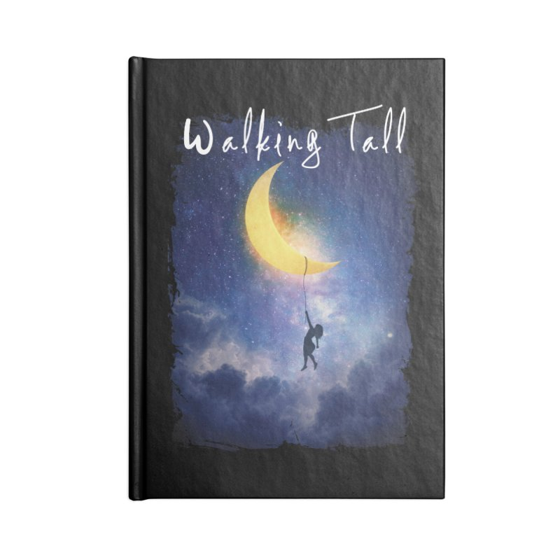 Moon And The Stars Accessories Notebook by Walking Tall - Band Merch Shop