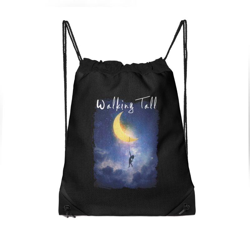 Moon And The Stars Accessories Drawstring Bag Bag by Walking Tall - Band Merch Shop