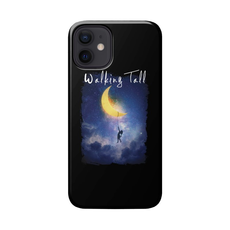 Moon And The Stars Accessories Phone Case by Walking Tall - Band Merch Shop
