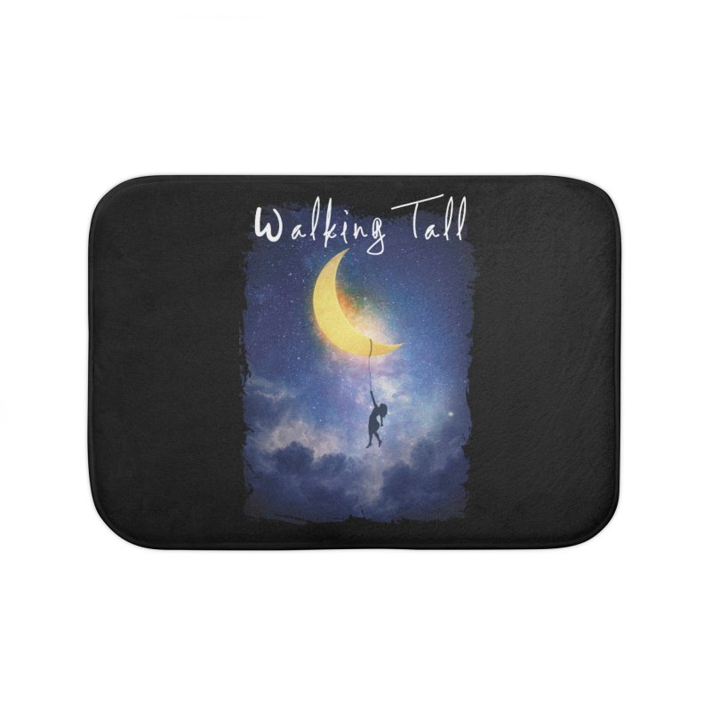 Moon And The Stars Home Bath Mat by Walking Tall - Band Merch Shop